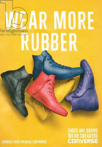 Converse Magazine Advert, 2014 (colour litho)