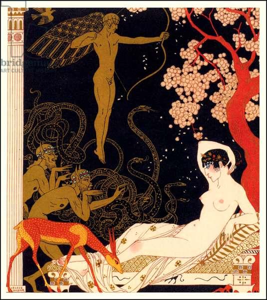 Poster for 'La Belle Helene' (colour litho)