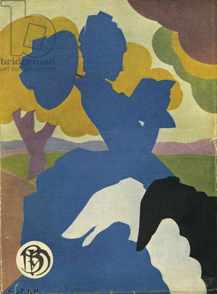 Illustration from 'Blanco y Negro', 1934 (colour litho)