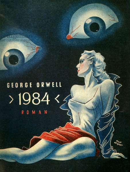 Nineteen Eighty-Four, Book Cover, c.1949 (colour litho)