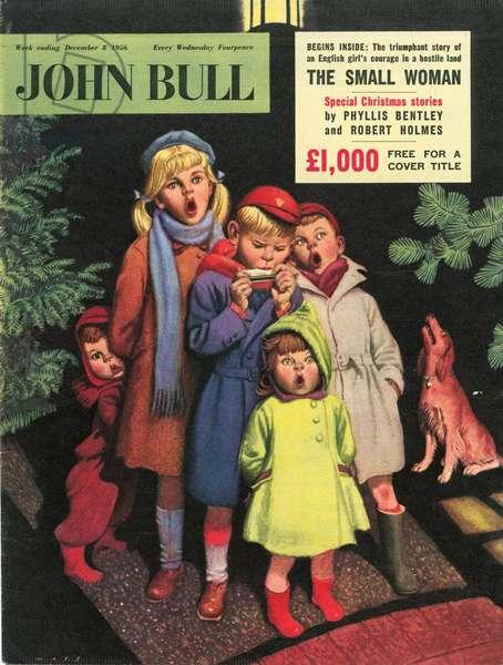 Front cover of 'John Bull', December 1956 (colour litho)