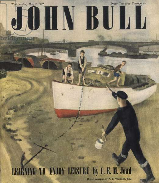 Front cover of 'John Bull', May 1947 (colour litho)