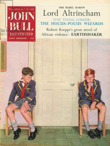 Front Cover of 'John Bull', April 1959 (colour litho)