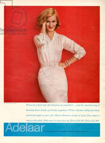 Aelaar Magazine Advert, 1950s (colour litho)
