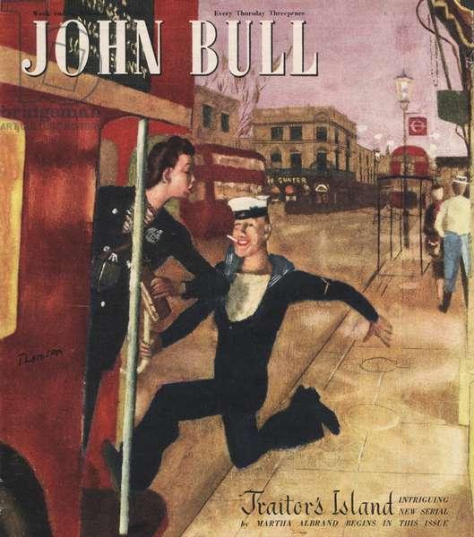 Front cover of 'John Bull', February 1949 (colour litho)