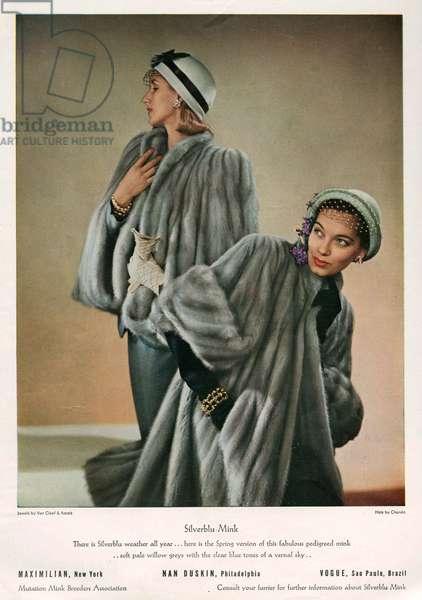 Magazine Advert, 1940s (colour litho)