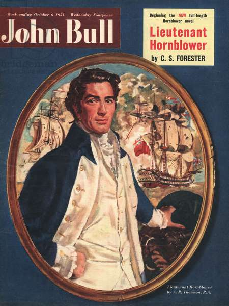 Front cover of 'John Bull', October 1951 (colour litho)