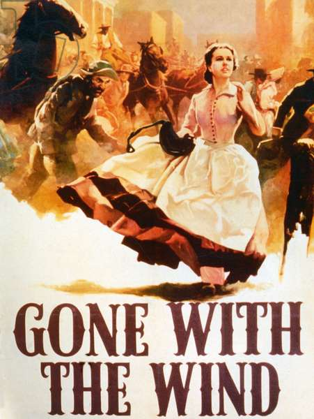 Gone with the Wind, Poster, 1936 (colour litho)