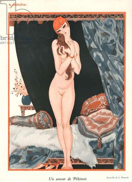 Front cover of 'Le Sourire' (colour litho)