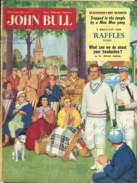 Front Cover of 'John Bull', May 1958 (colour litho)