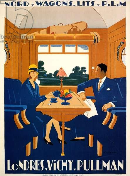 Pullman poster, 1920s (colour litho)