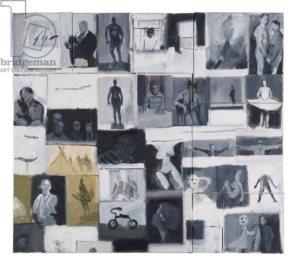 Studio Wall Study, 2005 (oil on canvas)