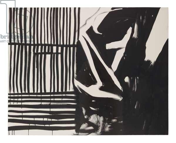 Urban Landscape, 2000 (ink on canvas)