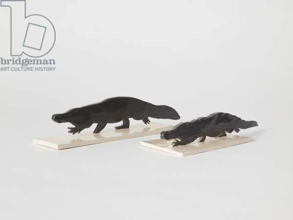 Crocodiles, 2018 (ceramic)