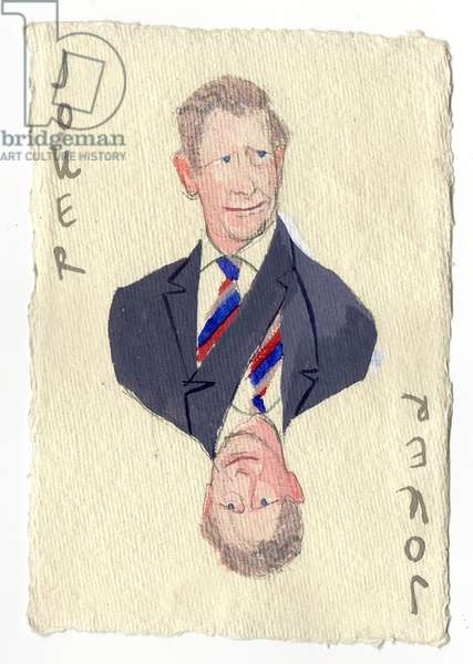 Prince Charles, 2015 (gouache on paper)