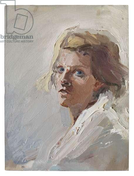 Self Portrait, 2005 (oil on canvas)