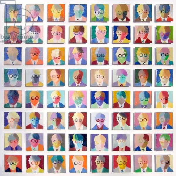 Homage to David Hockney No.1, 2008