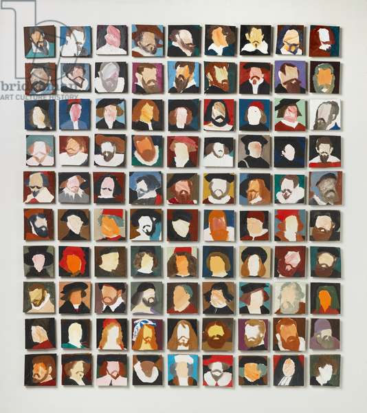 90 Old Masters, 2006 (oil on canvas)