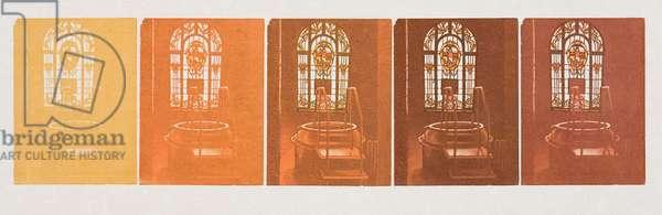 Shades of Memory, 2007 (wood engraving)