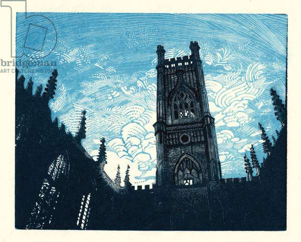 Bold Street – Blue Sky, 2014 (wood engraving)