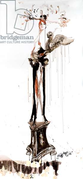 Legs and Drawers No. 2, 2008, (ink on paper)
