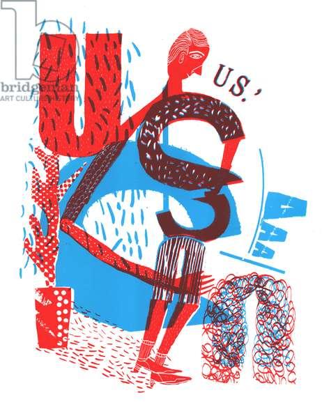 US, 2015 (screen print)