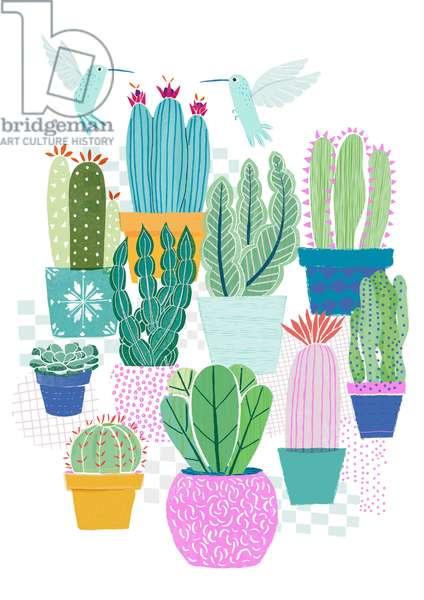Cactus Love, 2015 (digital)