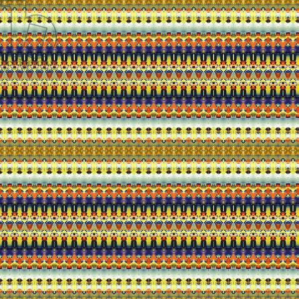 Tribal Orange Stripe