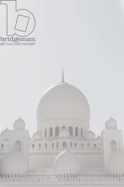 Sheikh Zayed Grand Mosque portrait