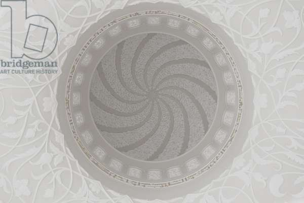 Sheikh Zayed Grand Mosque ceiling#2
