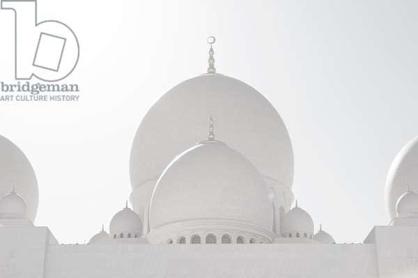 Sheikh Zayed Grand Mosque landscape#1