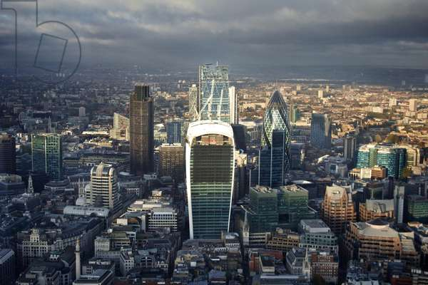 A View of The City (London)