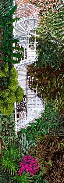 Kew Gardens #2, 2020 (Brush Pens on Paper)
