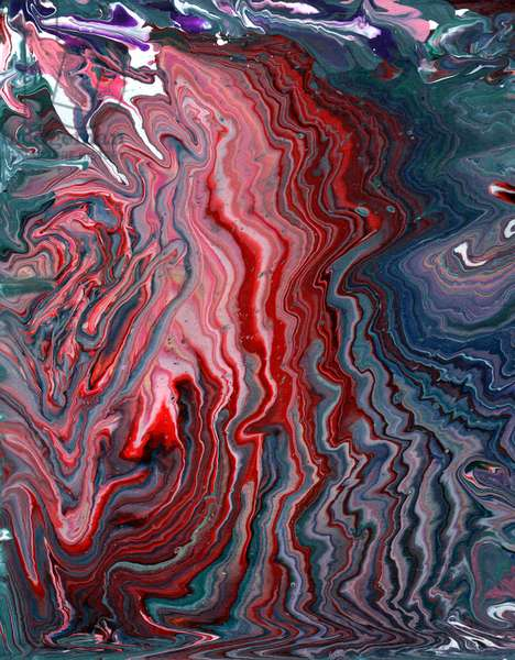 Acrylic Pouring, 2020