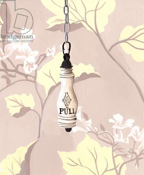 Pull, 2014, gouache