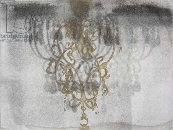 Chandelier, 2015 (solar plate etching)