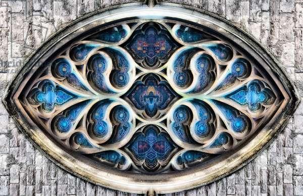 Gothic window eye, 2014 (digital image)