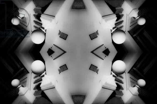 Stoop, 2014 (digital image)