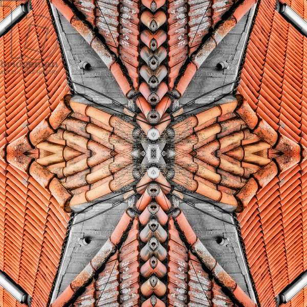 Terracotta Roofs, 2015 (digital image)