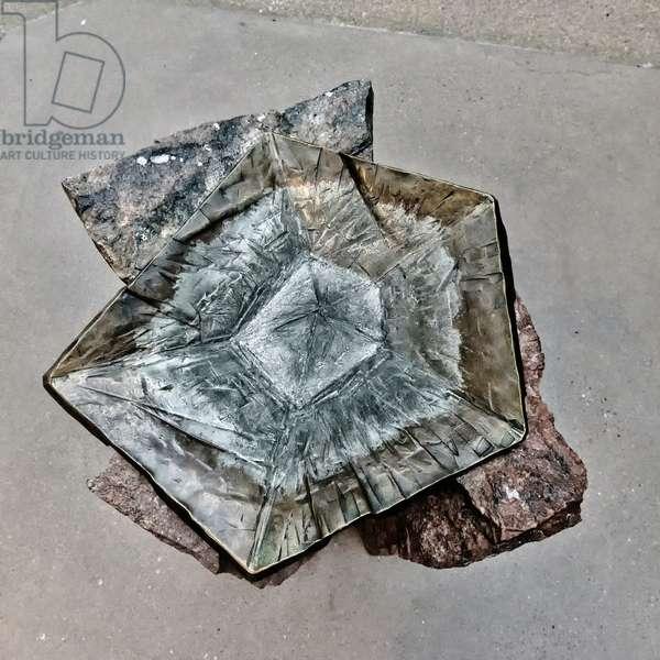 Granite Font, 2020, (photograph)
