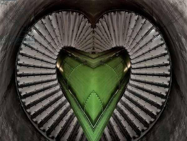 Spiral Heart, 2014 (digital image)