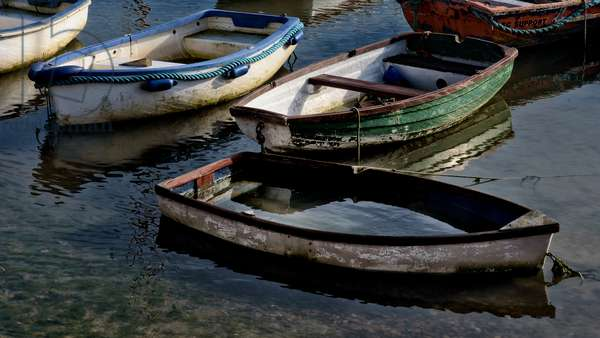 Boat sinks in harbour, 2020, (photograph)