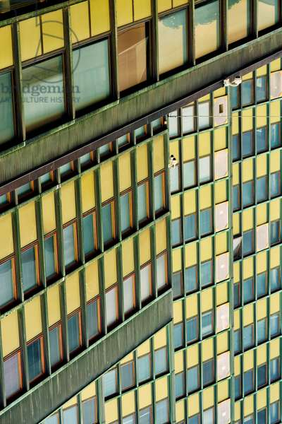 Green windows, 2020, (photograph)