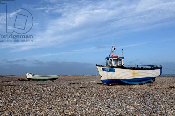 Beached boats, 2020, (photograph)