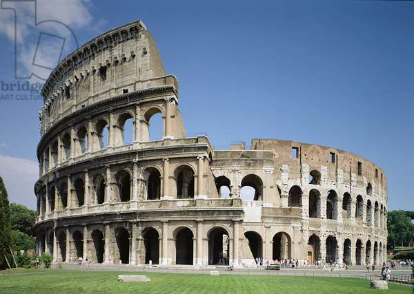 The Colosseum, Rome, built 70-80 AD (photo)