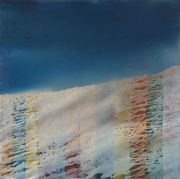 Trace, 2009, (oil on canvas)