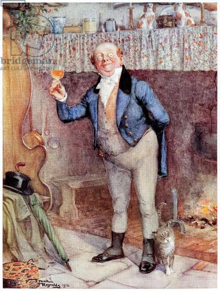 Mr Pickwick from 'The Posthumous Papers of the Pickwick Club'