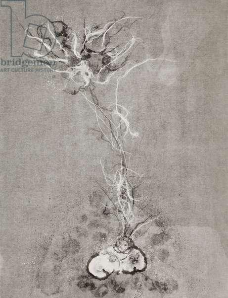Fragility 4, 2009, (monotype)