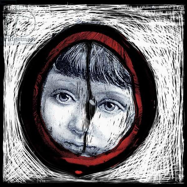 Cogito Ergo Sum 3.9, 2006, (archival digital pigment print)