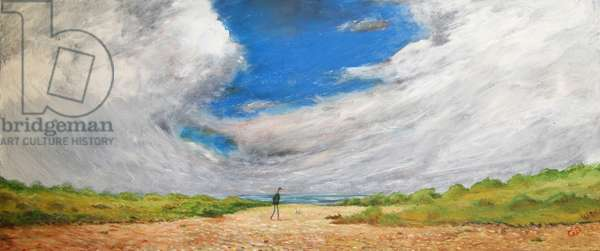 The Dunes, 2015, (oil on canvas)